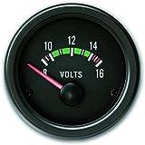 JOM 21120V Manomètre, Volt, noir, Ø52mm