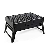Portable barbecue grill, outdoor garden charcoal barbecue grill, terrace party cooking foldable picnic stove, very suitable for outdoor camping