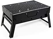 Portable barbecue grill, outdoor garden charcoal barbecue grill, terrace party cooking foldable picnic stove, very suitable