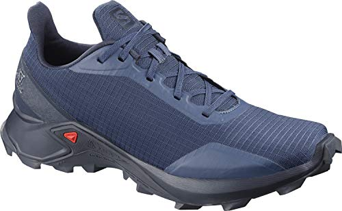 Salomon Alphacross, Zapatillas de Trail Running para Hombre, Azul Sargasso Sea/Navy Blazer/India Ink...