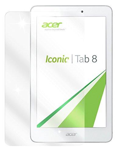 dipos I 3X Schutzfolie klar passend für Acer Iconia Tab 8 Folie Bildschirmschutzfolie
