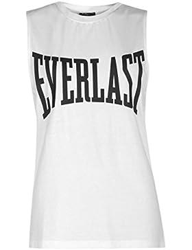 Everlast Mujer Tank Vest Señoras Camiseta Mangas Cortas Casual Ropa Vestir