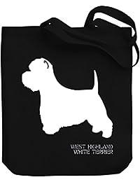 Teeburon West Highland White Terrier Bolsa de Lona