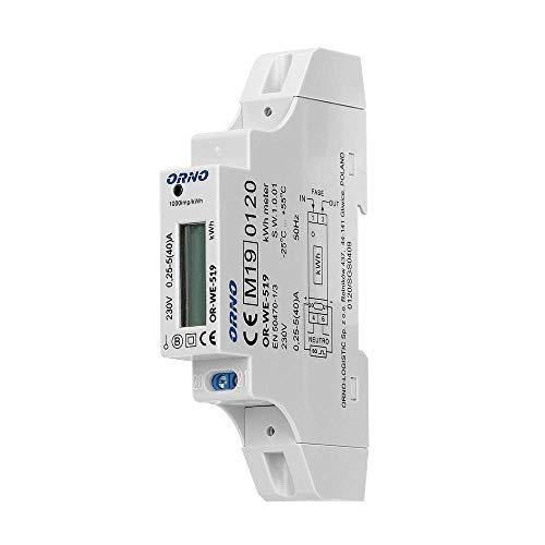 Stromzähler Elektrozähler Strom zähler Wattmeter Digitale 230V 5(40) A