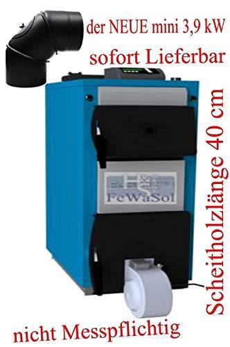 Elektromet ECO-Mini-Super 3,9 kW Stahlblech - Festbrennstoffkessel