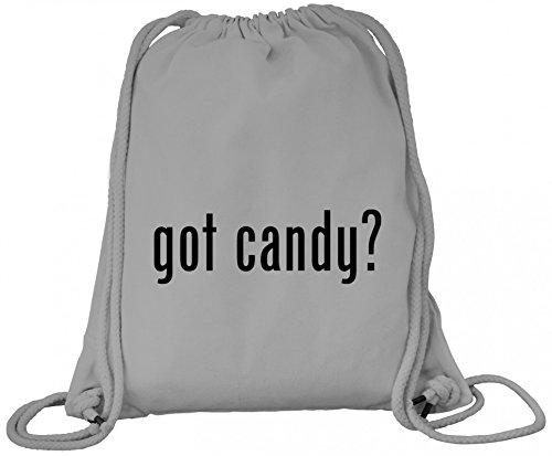 n Grusel Kostüm Premium Bio Baumwoll Turnbeutel Rucksack Stanley Stella Halloween - Got Candy?, Größe: onesize,Heather Grey (Grey Ghost Kostüm)