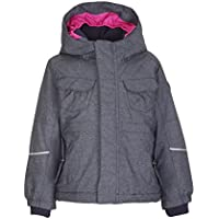 Killtec Mädchen July Mini Skijacke/Funktionsjacke mit Kapuze und Schneefang, Grow up Funktion - Kindermode die mitwächst