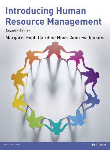 Introducing Human Resource Management 7th edn