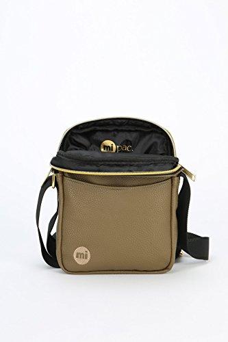 Mi-Pac Gold Flight Bag Bolso Bandolera, 21 cm, 1.7 Litros, Tumbled Khaki