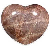 Moonstone Shaded Crystal Heart - 4cm by CrystalAge preisvergleich bei billige-tabletten.eu
