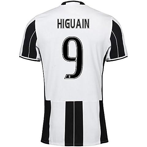Trikot Juventus Turin 2016-2017 Home (Higuain 9, Small 36-38