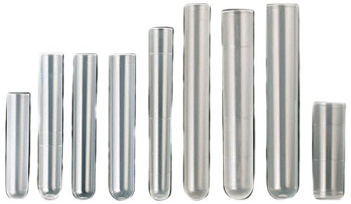 Medline 400705 Reagenzglas, Polypropylen, 16 x 100 mm, 2500 Stück