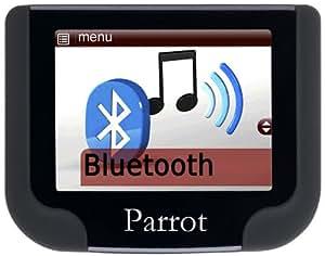 PaRROT MKi9200 Boîtier UK Bluetooth mains libres PaRROT Kit de golf, AVRCP, HFP/A2DP, PBAP/OPP/EXT DOUBLE3 DSP, micro - 3 connecteurs multiples-iPODS (G5) USB/LINE IN. synthèse vocale, l'utilisateur indépendant reconnaissance vocale)
