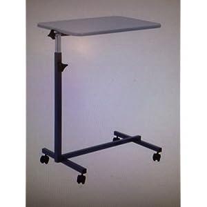 Careline Bett-Tisch NOVA mit grauer Tischplatte Pflegetisch Krankentisch