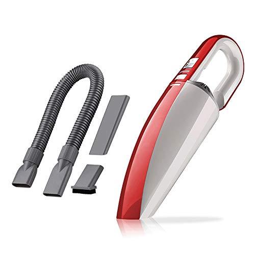 5GHjkj Auto Aspirapolvere Multifunktions-Potente-Anzeige Alta Potenza Auto-Mehrzweck-Portatile Tastiera Aspirapolvere (Farbe : Red) - Red Grit Guard