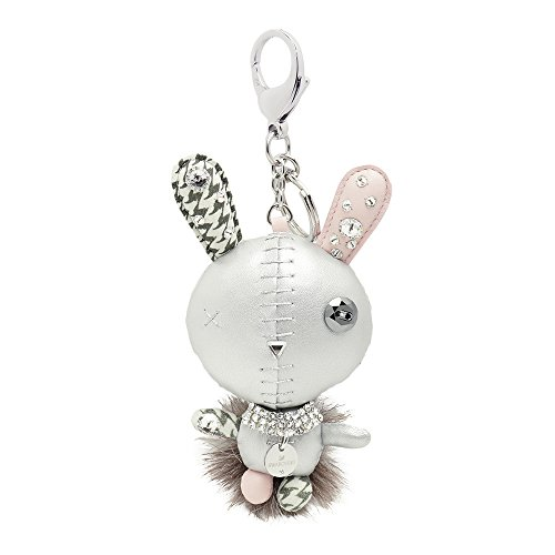 Swarovski mathilde silver accessorio per borse