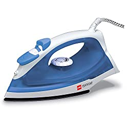 Cello Sty Steamy 100B 1250-Watt Steam Iron (Blue and White)