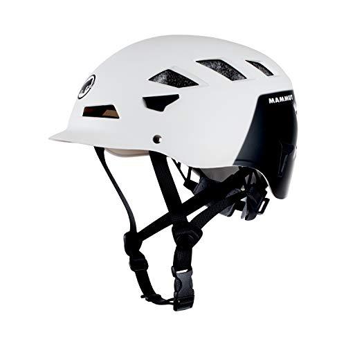 Mammut Cap Helm White/Black, Unisex Erwachsene, Unisex-Erwachsene, 2030-00091, Mehrfarbig (White/Black), 52-57 cm