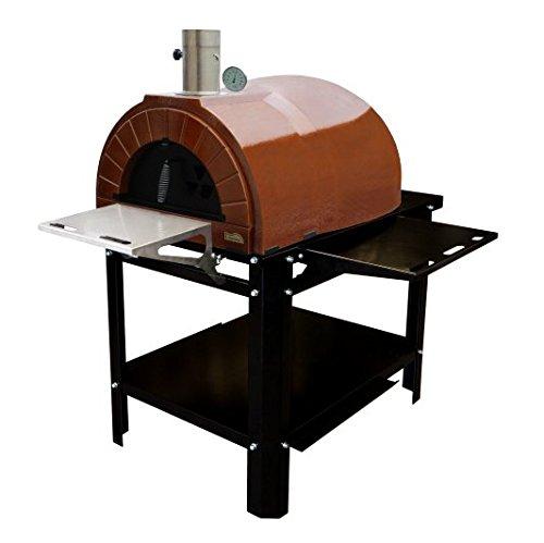 AMPHORA Ready (AMPHORA Plus + Ständer) Gartenbackofen Pizzaofen
