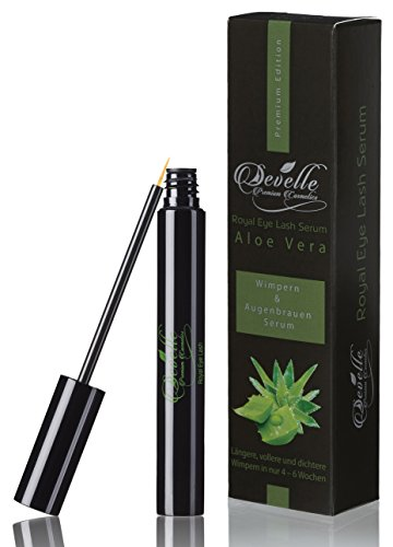 Develle Royal Eye Lash 4 ml. Wimpernserum & Augenbrauenserum mit ALOE VERA I Wimpern Activating...