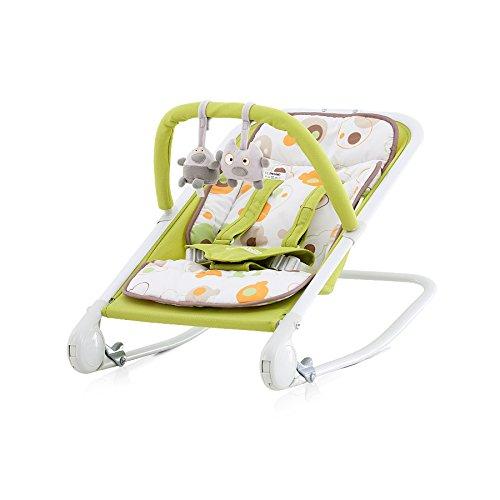 Chipolino Transat pour Bébé Baby Boo Vert