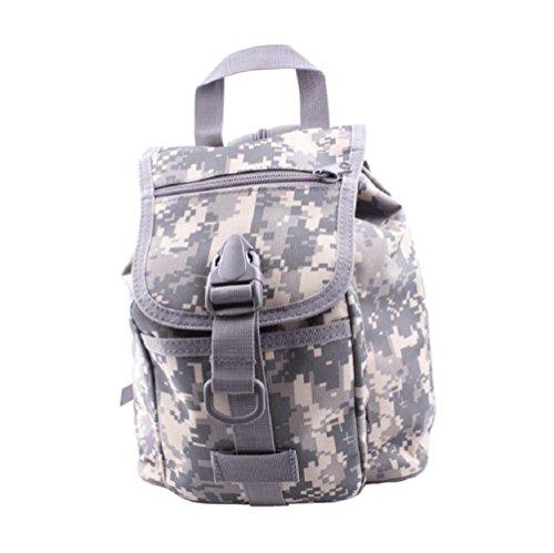 Z&N Camuffamento zainetto portatile maschio e femmina generale borsa a tracolla articoli per esterni zaino da viaggio zainetto tattico impermeabile resistente tatticoG8L C