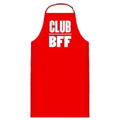 Delantal de cocina Club BFF by Shirtcity
