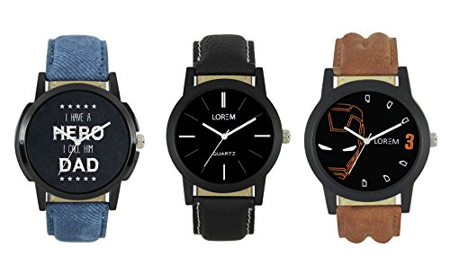 AK Analogue Multi-Colour Dial Men\'s Watch - WAT-LR -4-5-7