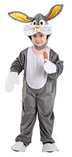 Imagen de disfraz conejo bugs bunny infantil  único, 7 a 9 años
