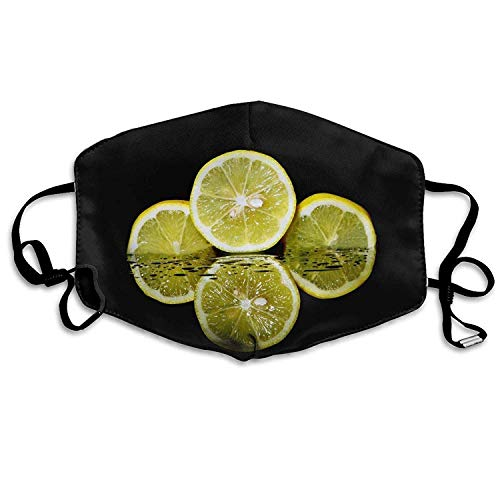 Citrus-peeling (Fashion Outdoor Reusable Mouth Mask, Face Masks with Design, Mouth Mask Citrus Fruit Anti-dust Polyester Face Mask Unisex)
