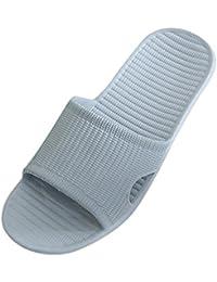 Pantofola piatta piatta, WINWINTOM pantofola morbida piatta morbida Pelliccia liscia Pantofola piatta Flip Flop Lady Sandals ragazza scarpe (39, Rosa)