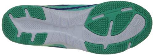 Puma Trovan Lite Chaussures de football Spectrum Blue/White/Electric Green