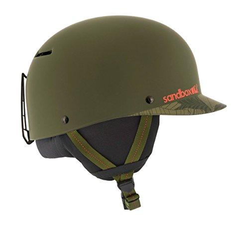 Sandbox Snowboard Helm Classic 2.0 Matte Jungle Camo (Medium, Grun)
