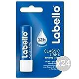 Set 24Labello Classic Care Balsam feuchtigkeitsspendend für die Lippen