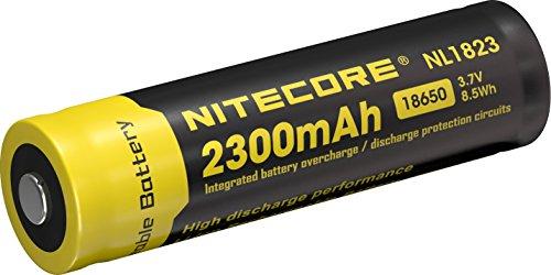 Nitecore NL1823- Accesorio Farol de Mano para Adulto–Color Negro/Amarillo