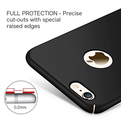 "Coque iPhone X, Riffue® Housse Etui PC Plastique Dur Robuste Couverture Arrière [Ultra Slim] [Ultra Léger] Anti-Rayures Anti-dérapante Protection Case Cover pour Apple iPhone X(10) 2017 5.8"" - Or Noir"