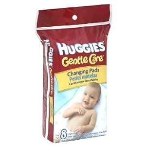 Huggies Disposable Changing Pads (Soft, Absorbent Top With A Waterproof Back) - 8 Pads/Pack, 5 Packs Nourrisson, Bébé, Enfant, Petit, Tout-Petits