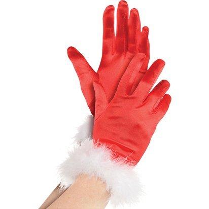Fräulein Sankt-Handschuhe - Frauen-Weihnachtszubehör - Erwachsener eine Größe (Mrs Claus Anzüge)