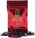 Caffeine Bullet - Caramelos de menta masticables con electrolitos. Suplementos de cafeína para antes de entrenar en el gimnasio, corriendo, carreras y ciclismo; para un rápido aumento de energía