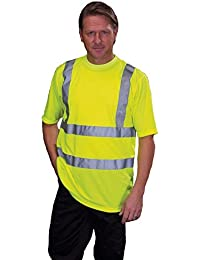 YOKO - T-shirt de sécurité EN 471 - Jaune fluo - HVJ410 - taille XXL - mixte homme / femme
