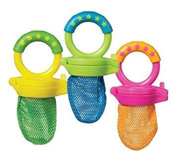 Munchkin Fresh Baby-Fruchtsauger für weiche Lebensmittel, BPA-frei, 6+Monate
