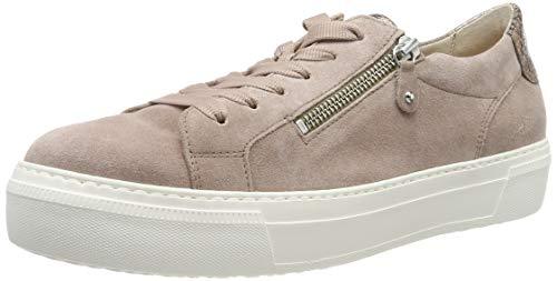 Gabor Shoes Damen Jollys Sneaker Mehrfarbig (Rouge/ENGL.Rose 14) 43 EU