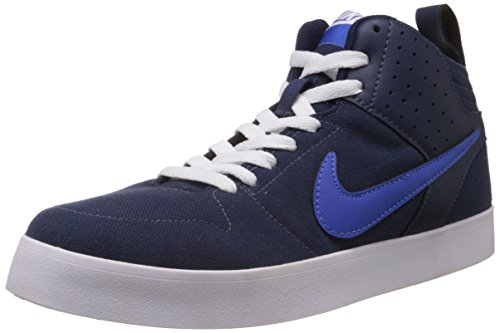 Nike Men's Liteforce III Mid Midnight Navy,Game Royal,White Casual Sneakers -8 UK/India (42.5 EU)(9 US)