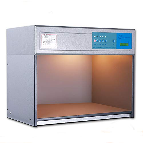 MXBAOHENG Cac-600-4 Couleur Placard assorti Couleur Assesment Cabinet 4 sources de lumière : D65 Tl84 UV F personnalisables 220V