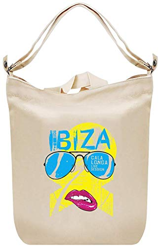 Ibiza Canvas Day Bag Custom Printed Handbag Fashion Accessory For Men & Women -