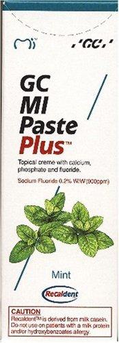 GC MI Paste Plus Minze Zahnschutzcreme mit Fluorid, 1er Pack (1 x 40 g)
