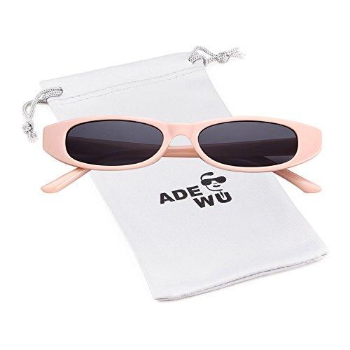 onnenbrille Unisex Clout Goggles Männer Frauen (Schwarze Und Weiße Vintage Cat Eye Brille)