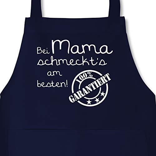 Küche – Bei Mama schmeckt's am besten – Kochschürze mit Tasche