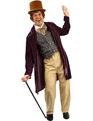 Schokoladen Mann Kostüm Karneval Fasching Herren Verkleidung
