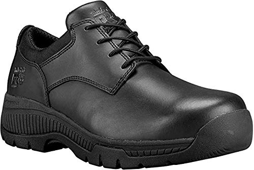Timberland PRO Valor Duty A1FY5 Mens Black Oxford Soft Toe Work Shoes cba2f258db2
